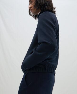 Turtleneck cardigan