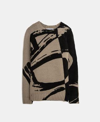 Jersey logotipado en punto de lana