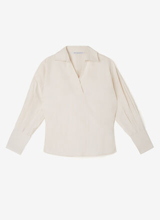 Oversize shirt with long sleeve