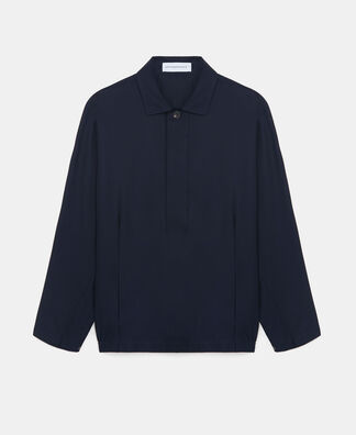 Lyocell and cotton jacket
