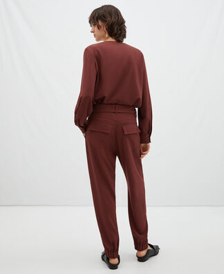 Oversize jogger trousers