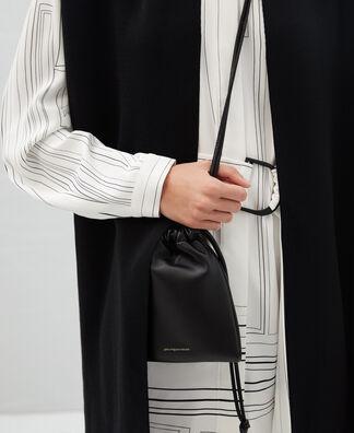 Nappa leather mobile phone bag