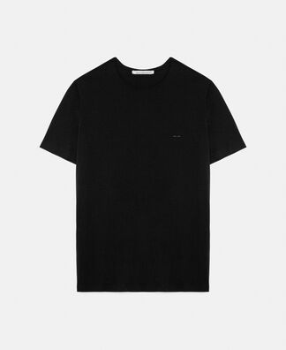 T-shirt in lyocell and cotton