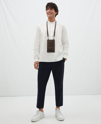 Ankle trousers in cotton