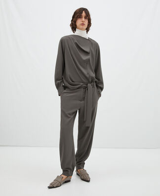 Blusa tapeta diagonal