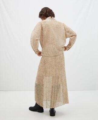 Heron pleated skirt