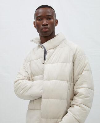 Chimney collar nylon padded jacket
