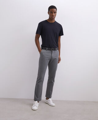 Ankle length cotton pants