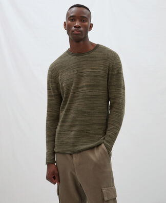 Fine cotton sweater