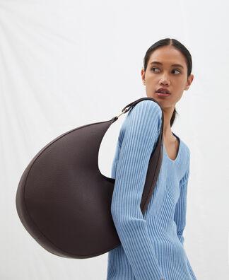 Recycled large shoulder bag