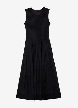 TEXTURED KNIT COCKTAIL DRESS