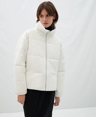 Cotton and nylon padded jacket