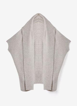 Alpaca & merino wool knitted cardigan