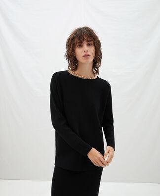 English knit Japanese sleeve sweater