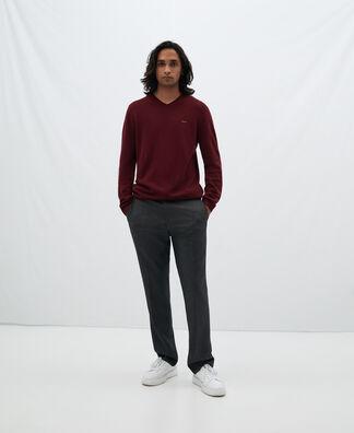 Basic V-neck sweater