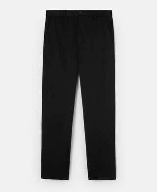 Pantalón chino en twill de viscosa