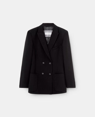 FOUR BUTTON STRAIGHT BLAZER