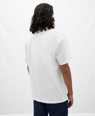 Oversize T-shirt with vacuum symbol