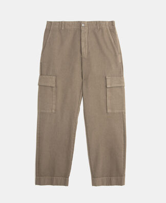 Pantalón cargo en algodón