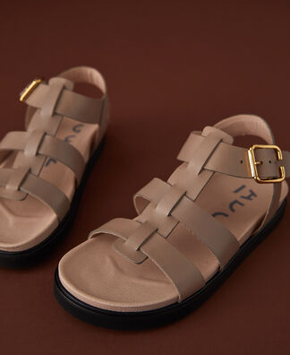 Franciscan sandal with rubber sole