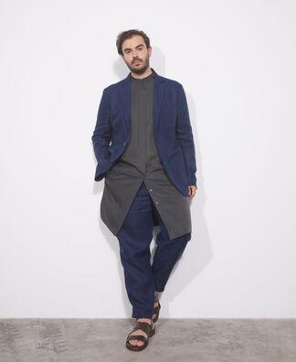 Classic blue tailored blazer