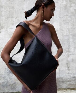 Recycled polyester hobo bag