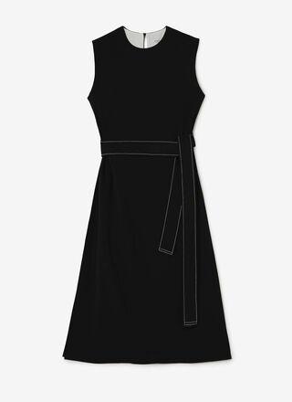 FLUID BICOLOUR DRESS