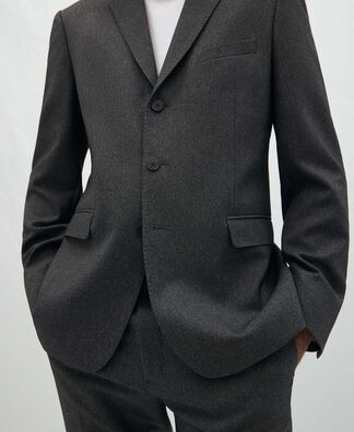 Three button tailored suit
